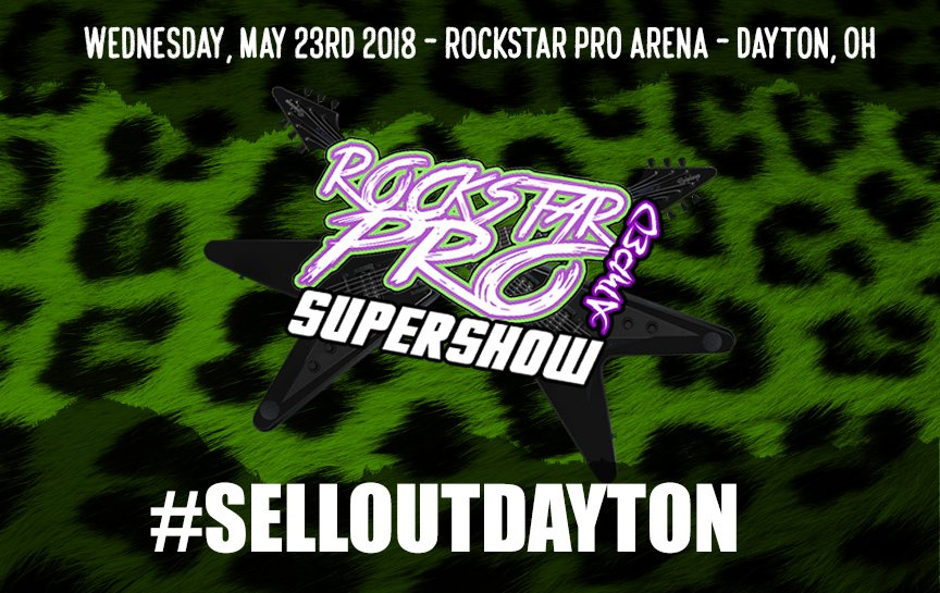The #RockstarPRO SUPERSHOW returns this WEDNESDAY!   Who else is running a crazy SUPERSHOW on a WEDNESDAY!? Tell your family, tell your friends, tell your neighbors!  Lets do something special, lets build the #MidwestTerritory, lets #SellOutDAYTON this WEDNESDAY!