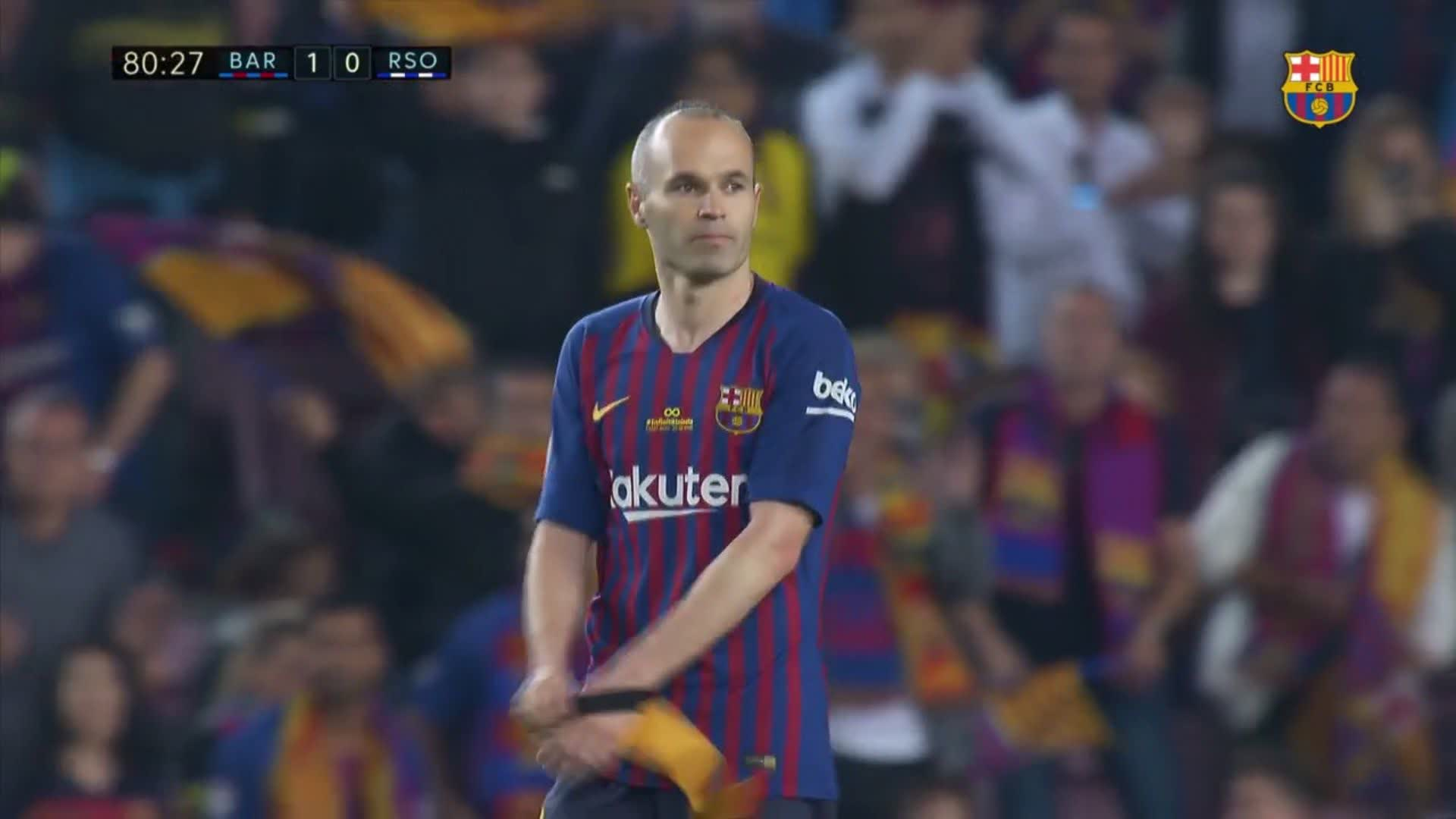 A legend departs and his legacy begins #infinit8iniesta https://t.co/AEpefaJQVv