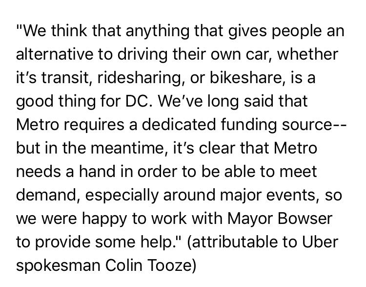 Statement from @Uber about Caps game 6 - late night Metro service #wmata @nbcwashington https://t.co/rLzeic80cB