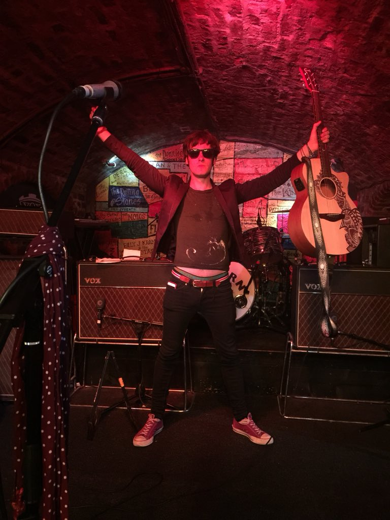 I was there!!! Listen to an exclusive interview with @darlingboymusic Alex Gold after his performance in The Cavern #Liverpool on @SoundOfSpitfire next week... #WasteMyDays<br>http://pic.twitter.com/7mlQ2QbCm4