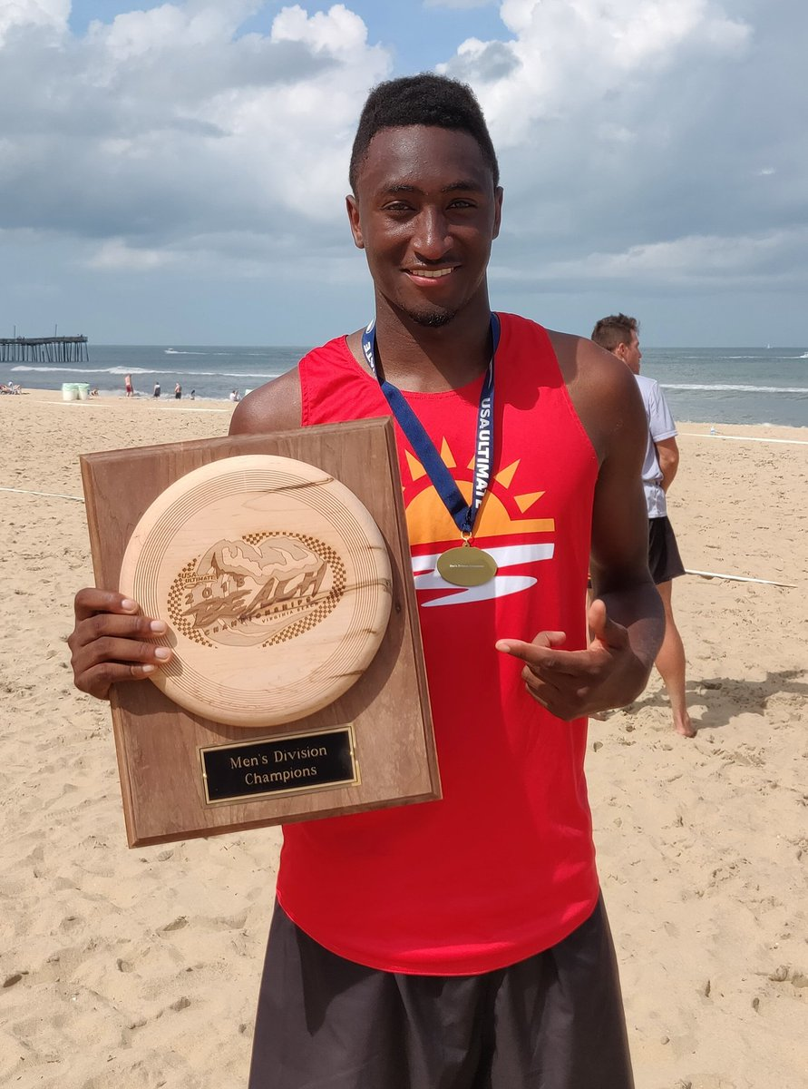 Took a weekend off from videos to win USA Beach Nationals for ultimate 👍