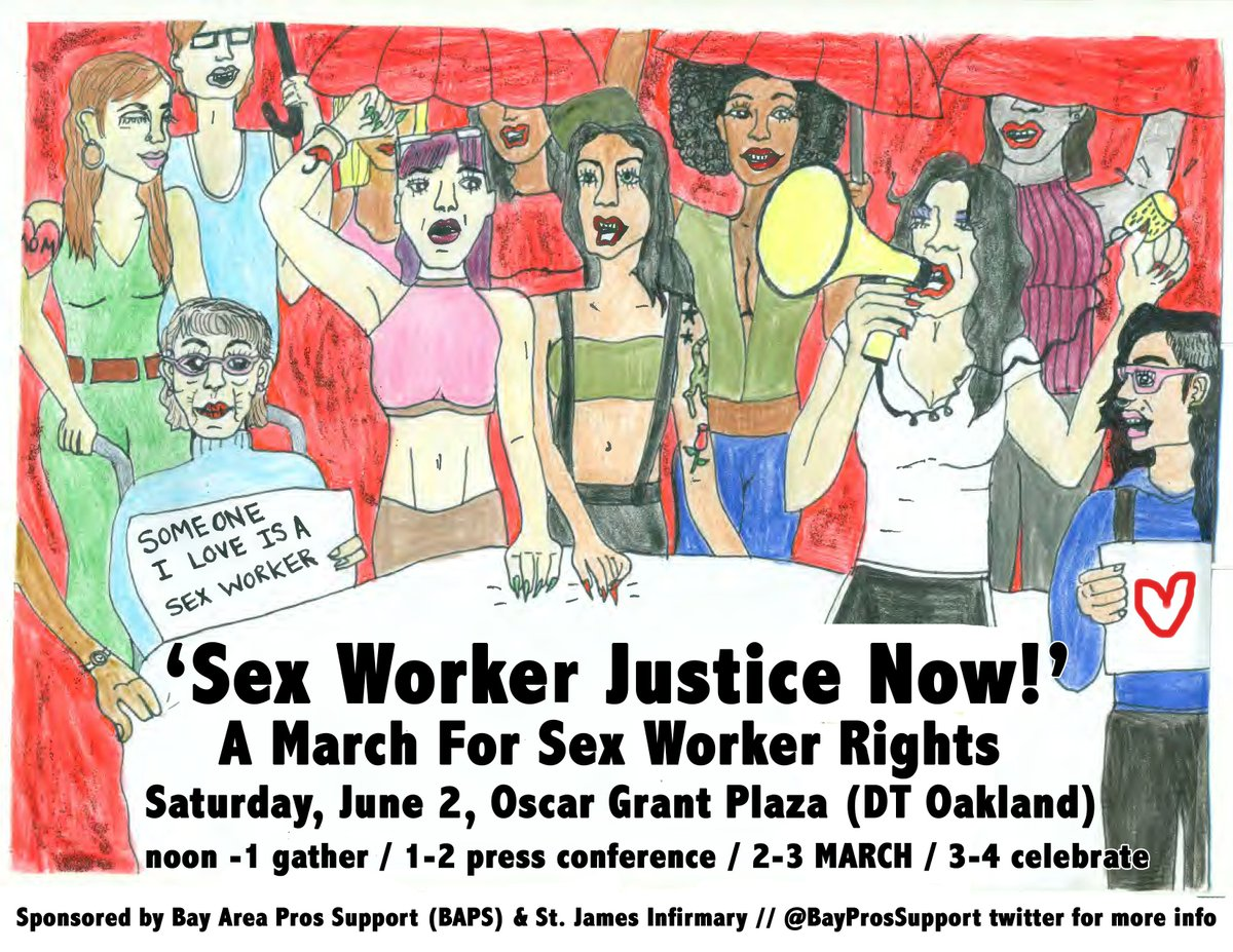 Sex Worker Justice Now: A March For Sex Worker Rights @ Oscar Grant Plaza | Oakland | California | United States