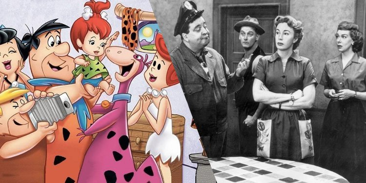 Image result for honeymooners flintstones