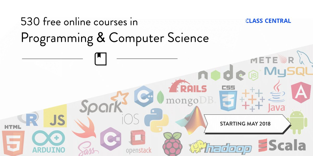 530 Free Online #Programming &amp; Computer Science Courses You Can Start in May by @dhawalhshah  http:// bit.ly/2IsChUa  &nbsp;   #learntocode #python #css #rubyonrails #html #javascript #CyberSecurity #appdev #webdev #sql #jquery #nodejs #reactjs #angularjs #java #devops #gamedev #UX #VR <br>http://pic.twitter.com/WwgVlqdaFQ