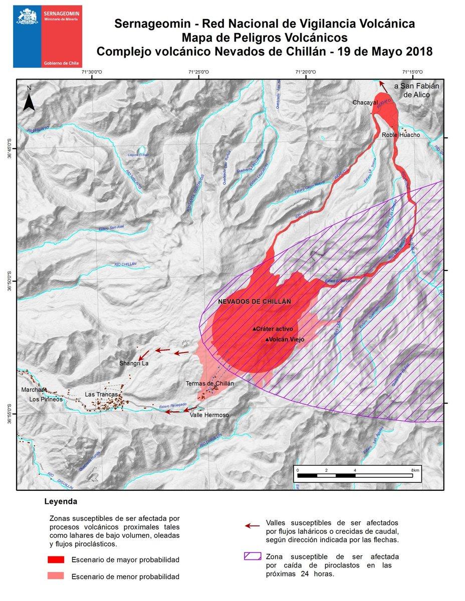 RT @onemichile Si viajas al sector de #NevadosDeChillán ten en cuenta el Mapa de peligro volcánico de @sernageomin e infórmate de los planes comunales de evacuación. Para recomendaciones de preparación y respuesta, ingresa a https://t.co/MMWS3imXKf