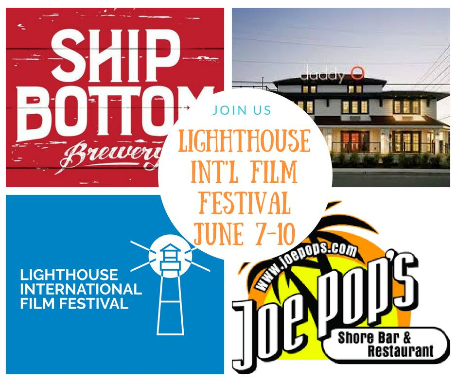Meet filmmakers, film enthusiast, enjoy libations and tasty treats by #LBIs best restaurants ! Check out #LIFF2018 website -www.lighthousefilmfestival.org-updates, details, to purchase All Access Passes #jerseyshore #filmmakers