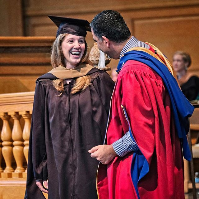 Congratulations to Caroline Dillon, the 1,000th graduate of our Masters in Management program! We launched this graduate degree program more than 10 years ago. Caroline received her master's hood during a ceremony at Wait Chapel on May 20. #wfugrad #bizd… https://t.co/9UZwOSLmQD