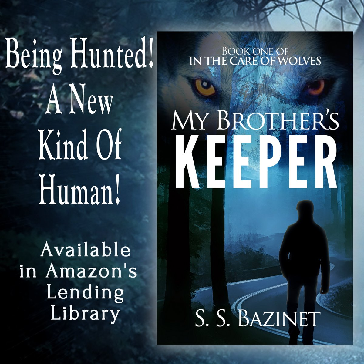 http:// amazon.com/dp/B008R8ZFPM  &nbsp;    Being hunted to extinction! A new kind of human!  MY BROTHER&#39;S KEEPER! @SSBazinet  #Thriller #Werewolves #KU<br>http://pic.twitter.com/WF6COdDGj3