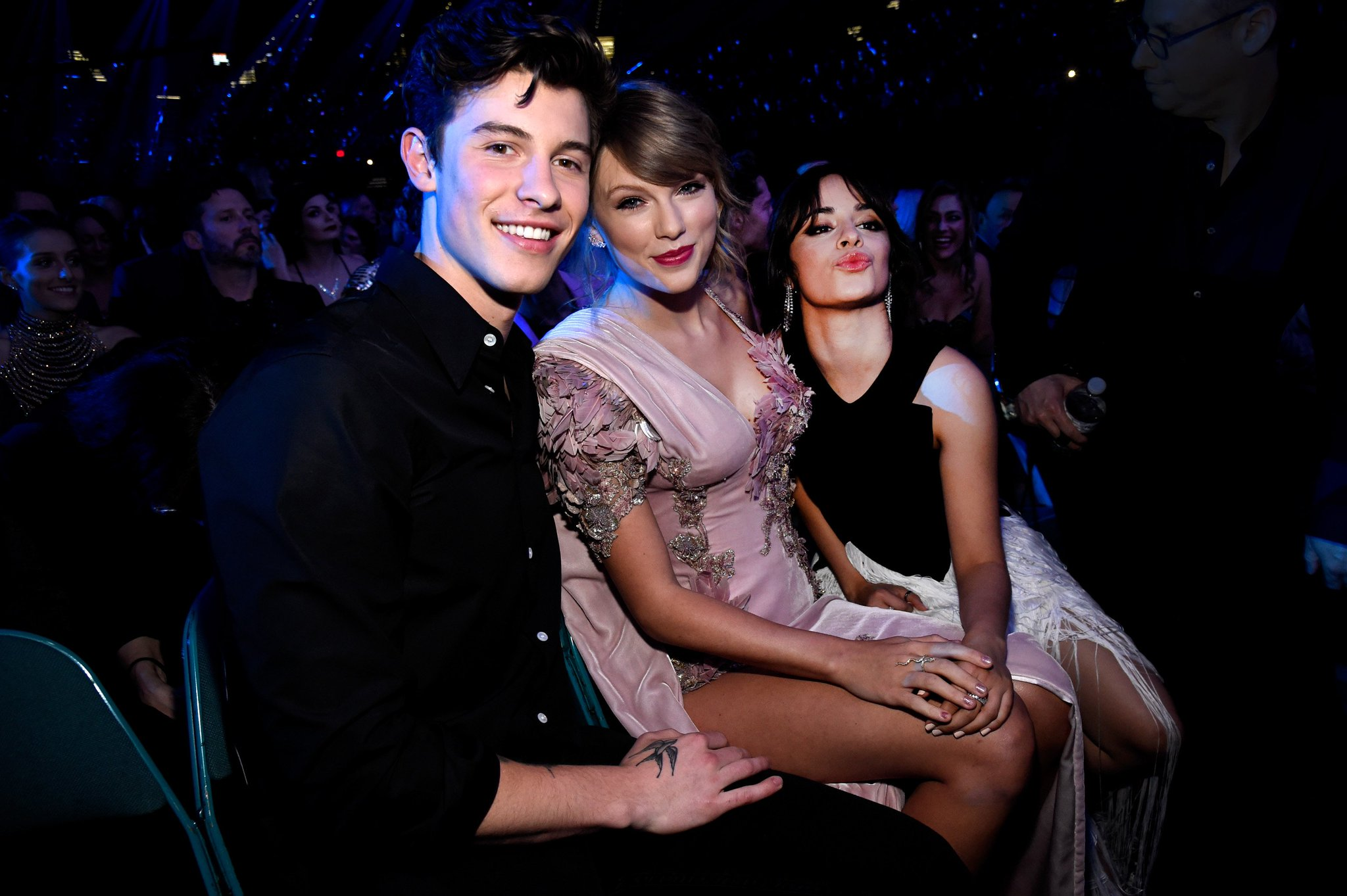 Whose #BBMAs squad would you want to join? #ShawnTaylorCamila #ARMY https://t.co/b2QzdbTghQ