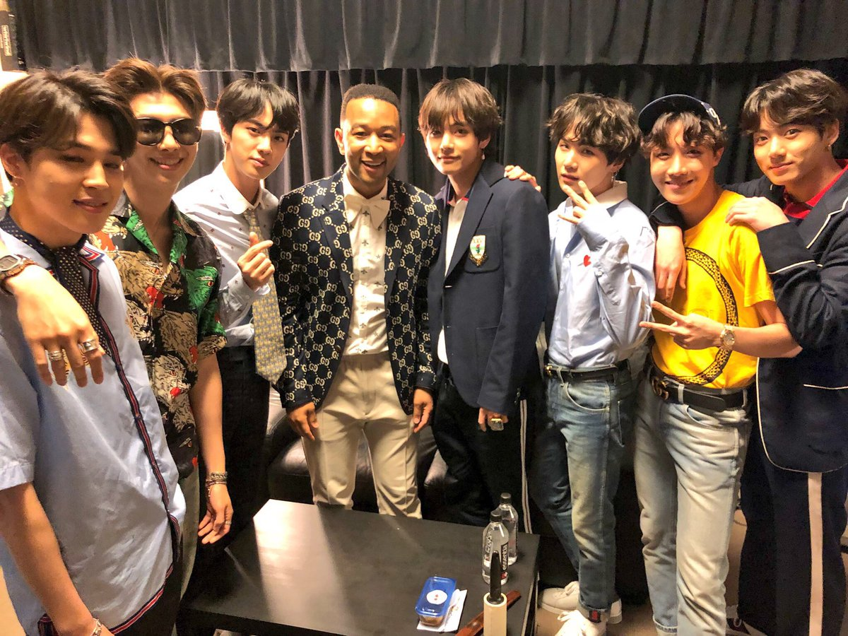 Backstage at the #BBMAs2018 with @BTS_twt