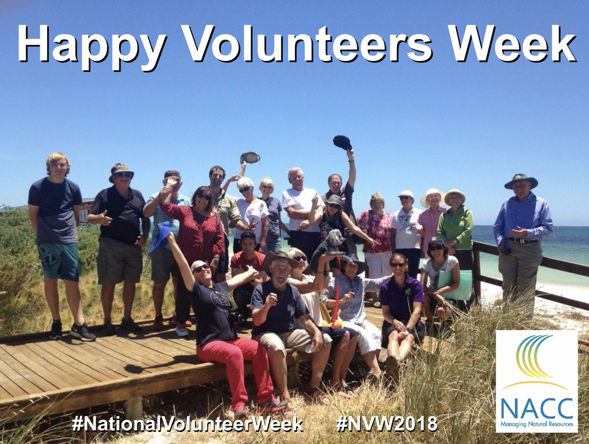 A BIG THANK YOU to all of our hard-working volunteers - all across the @NACC_NRM Region - who put in countless hours (and blood, sweat and cheers) contributing to land and sea conservation. #PeopleOfNRM #Landcare #Coastcare #Bushcare #NationalVolunteerWeek #NVW2018<br>http://pic.twitter.com/4hUQordoCS