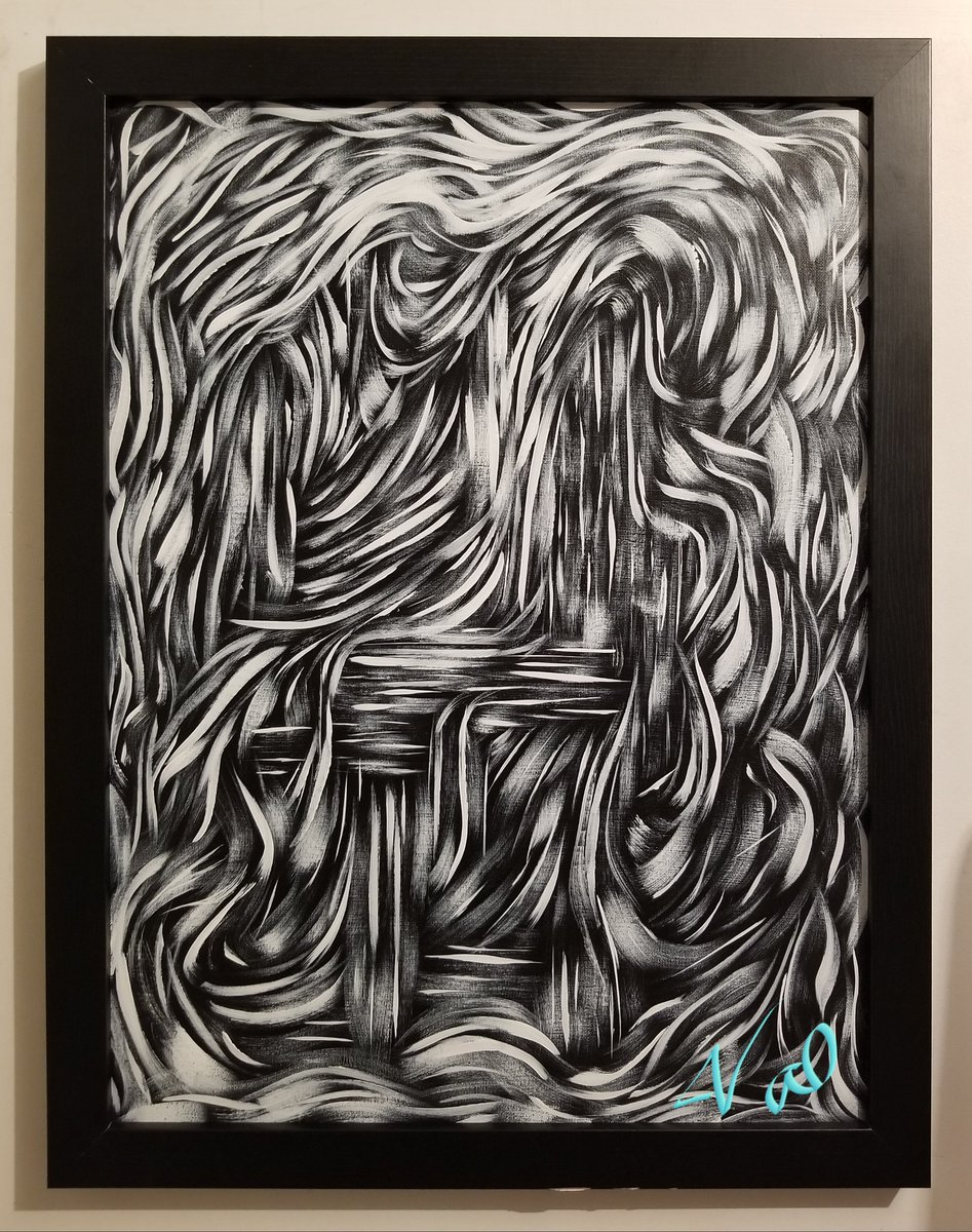 18in. x 24in. Acrylic on Canvas  #SundayMotivation #SundayFunday #art #artistsontwitter #artists #Abstract #abstractpainting #creativity #create #blackandwhite #artforsale #homedecor #decor #design #buyme #BuyItNow #oneofakind<br>http://pic.twitter.com/eSc7jO1HEO