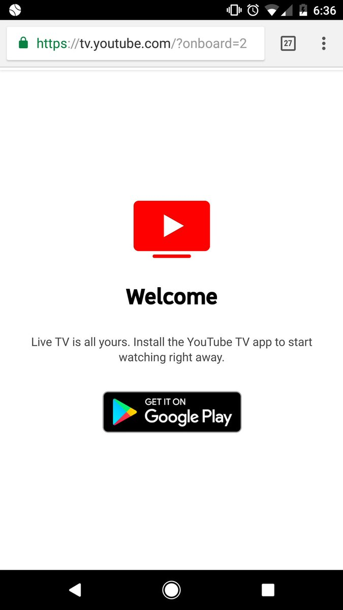 YouTube TV on Twitter: