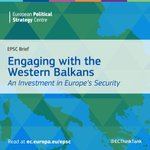 """#Security in the #WesternBalkans is intrinsically linked to #stability & #prosperity in the #EU as a whole. Read the @ECThinkTank's new report """"Engaging with the Western Balkans: An #Investment in #Europe's Security""""👉 https://t.co/7R3gOy3Fy8"""