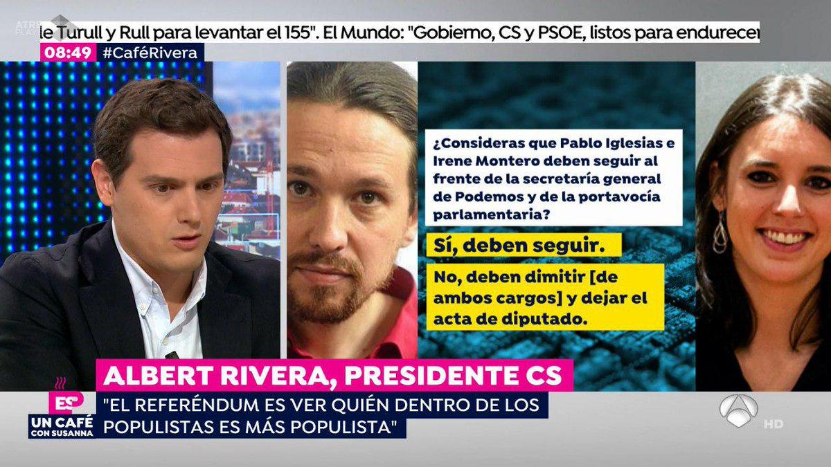 Ciudadanos's photo on Iglesias y Montero