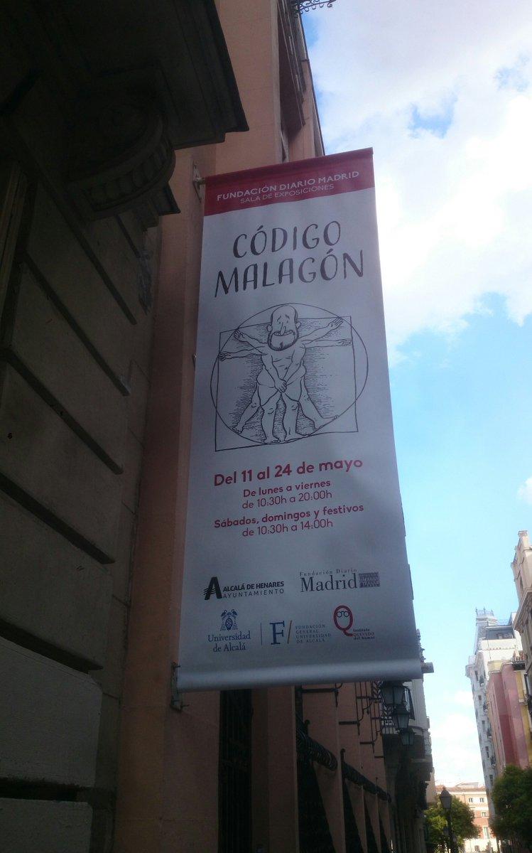 En el @FundDiarioMadri se puede ver la muestra del gran @malagonhumor