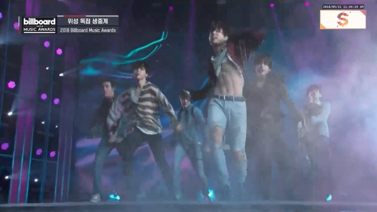 Jungkook flashing his abs on USA TV is definitely a moment to remember #FakeLovePremiere