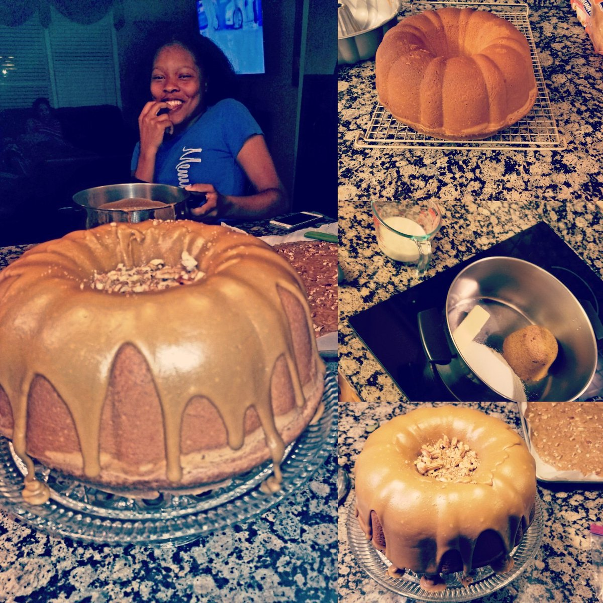 Cool Louis C Brownlee On Twitter Homemade Birthday Cake And Caramel Funny Birthday Cards Online Alyptdamsfinfo