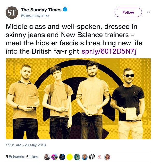 STOP MAKING THEM SEEM NORMAL.  Key word is &#39;Fascists&#39;.  (There&#39;s literally a comic mocking these people, follow their lead)<br>http://pic.twitter.com/igpzYvlyTL