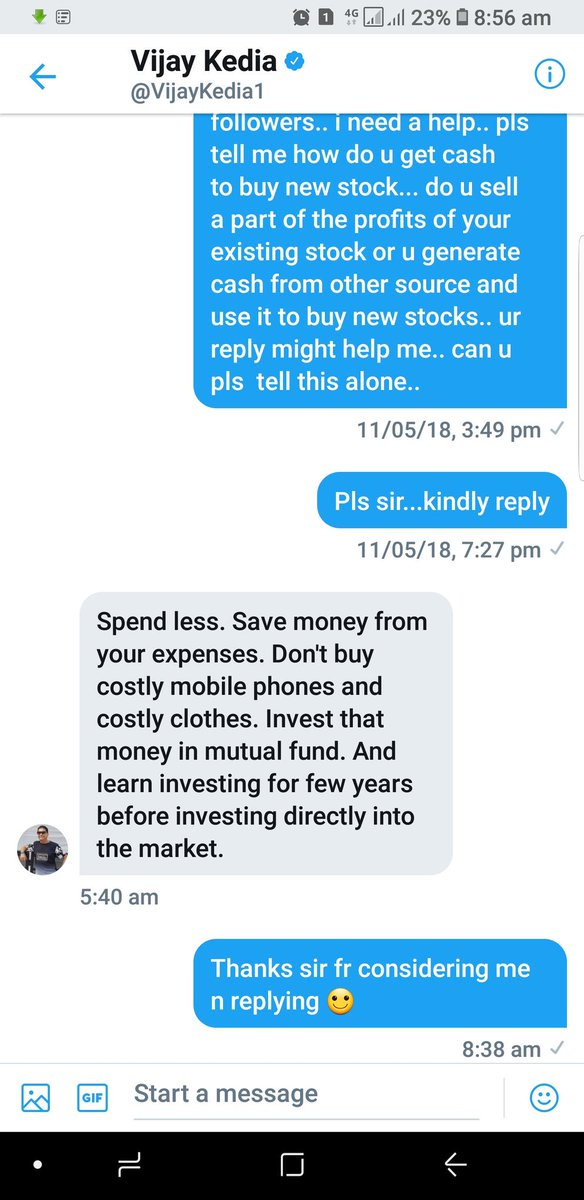 Why legends are really legends... because they deserve to be....@VijayKedia1 The man of simplicity.. thanks alot for this clarification sir which i had for quite long time... This might help others too.. https://t.co/lq26WNoVoQ