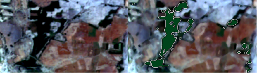 #Feature extraction from #Sentinel2 imagery using #machinelearning. Applications of #opendata in monitoring #landresources.<br>http://pic.twitter.com/WqsdGsYKnP