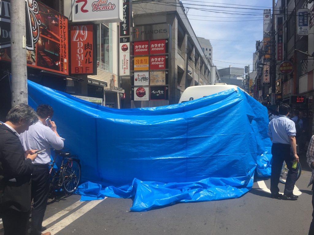 水道橋駅西口の事件または事故現場の写真画像