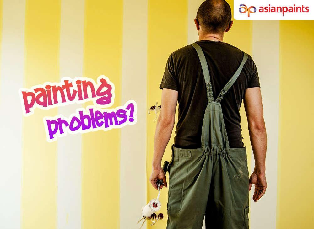 Are you facing problems while painting? Visit https://t.co/rYuQNi6p1R for easy solutions for common painting problems.  #asianpaintslk #paintingproblems #paintsolutions https://t.co/qR6s7FLmiJ