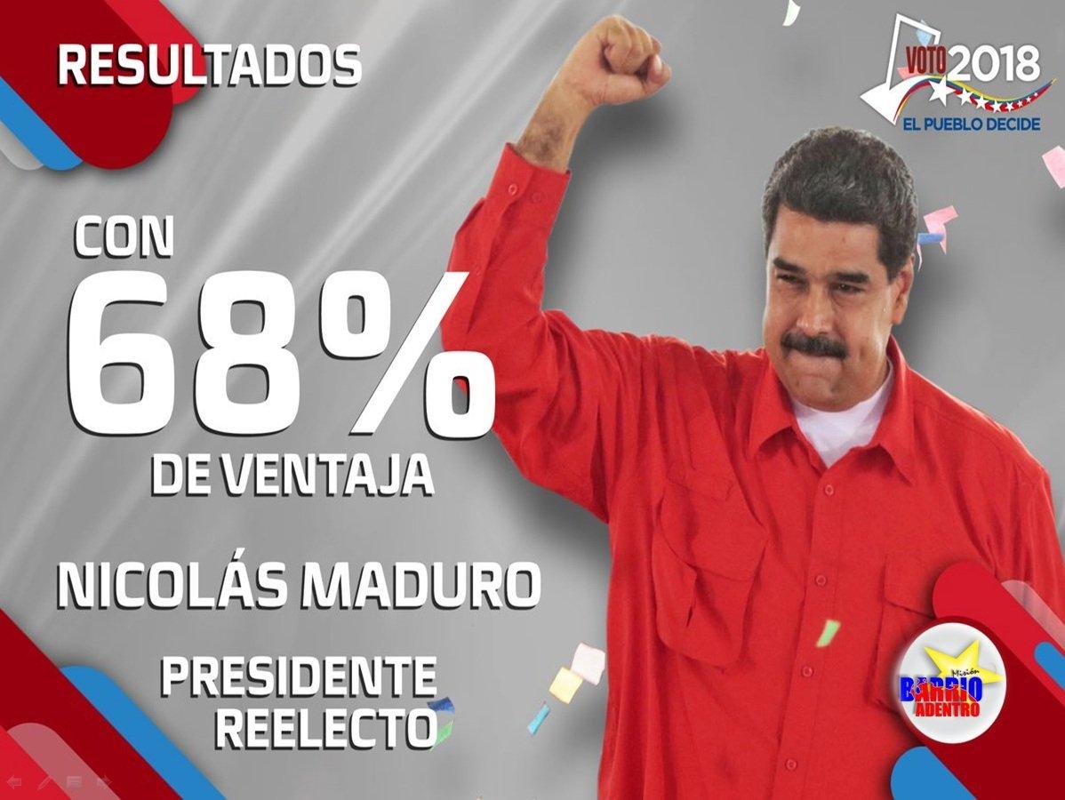 Мадуро победил