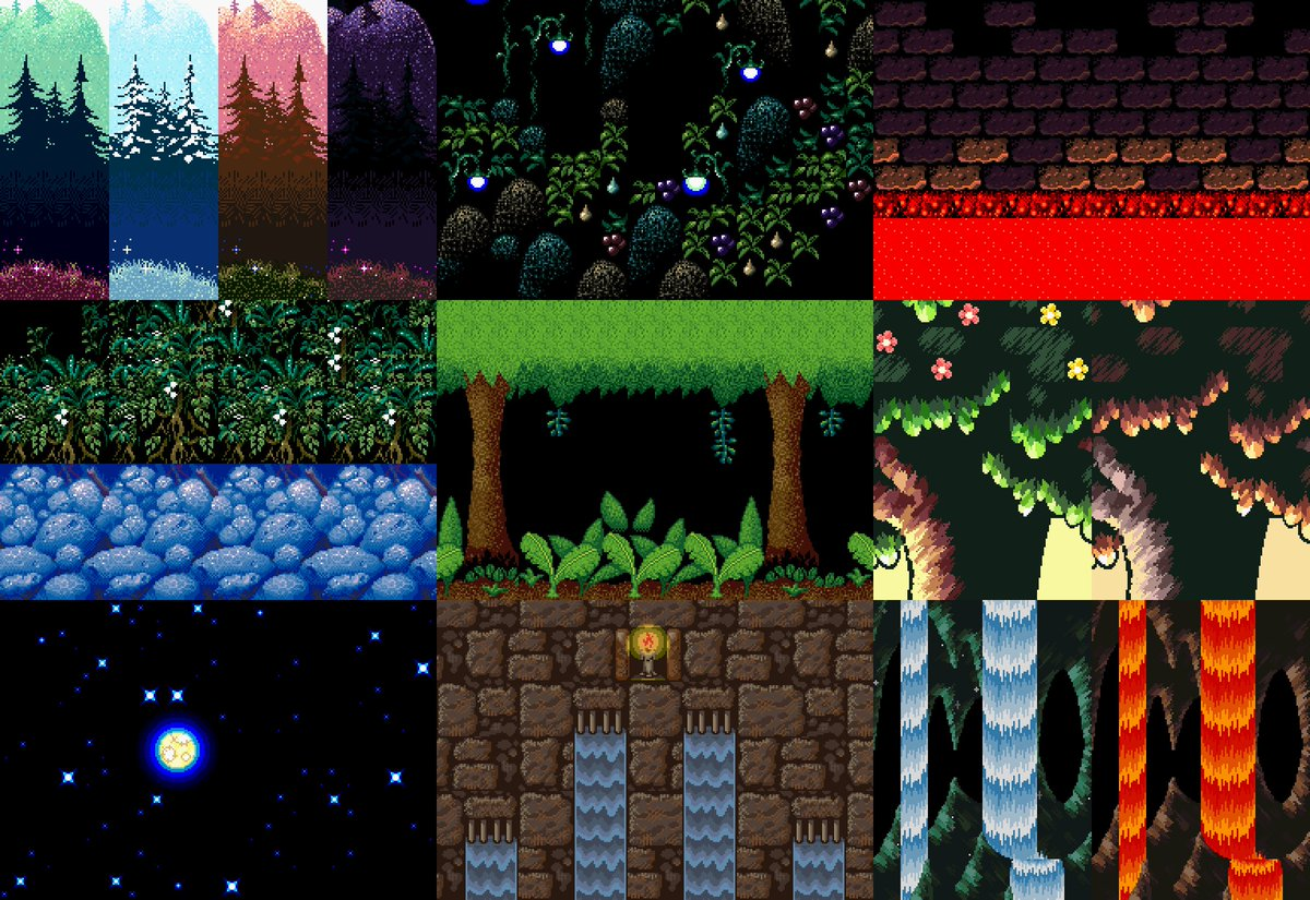 man yoshi&#39;s island has some gorgeous backgrounds #gamedev #inspiration #pixelart<br>http://pic.twitter.com/eXf4A7o13A