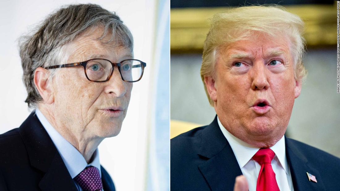 Bill Gates describes his interesting encounters with Donald Trump cnn.it/2Ljuv0O