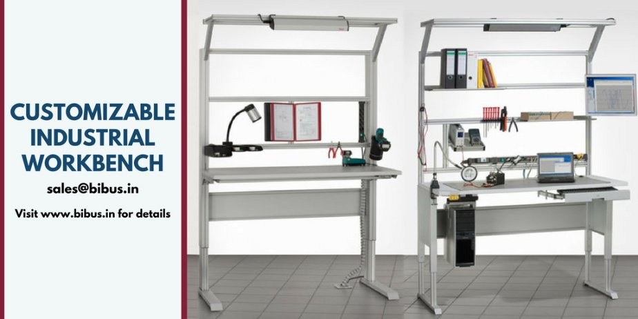 Looking for Industrial workbench systems? &gt;  https://www. bibus.in/products-solut ions/mech/industrial-aluminium-profiles/industrial-work-bench/ &nbsp; …    Email your requirements to BIBUS INDIA design team. We manufacture Industrial workbench with ESD protection and more #Manufacturing #Productivity #MakeInIndia<br>http://pic.twitter.com/JajLNkChOB