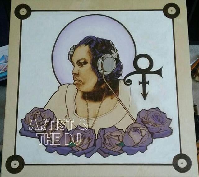 Thank you @artistandthedj1 for this beautiful masterpiece  #PurplePamFoundation  #pamthefunkstress<br>http://pic.twitter.com/XdtqxcEalq