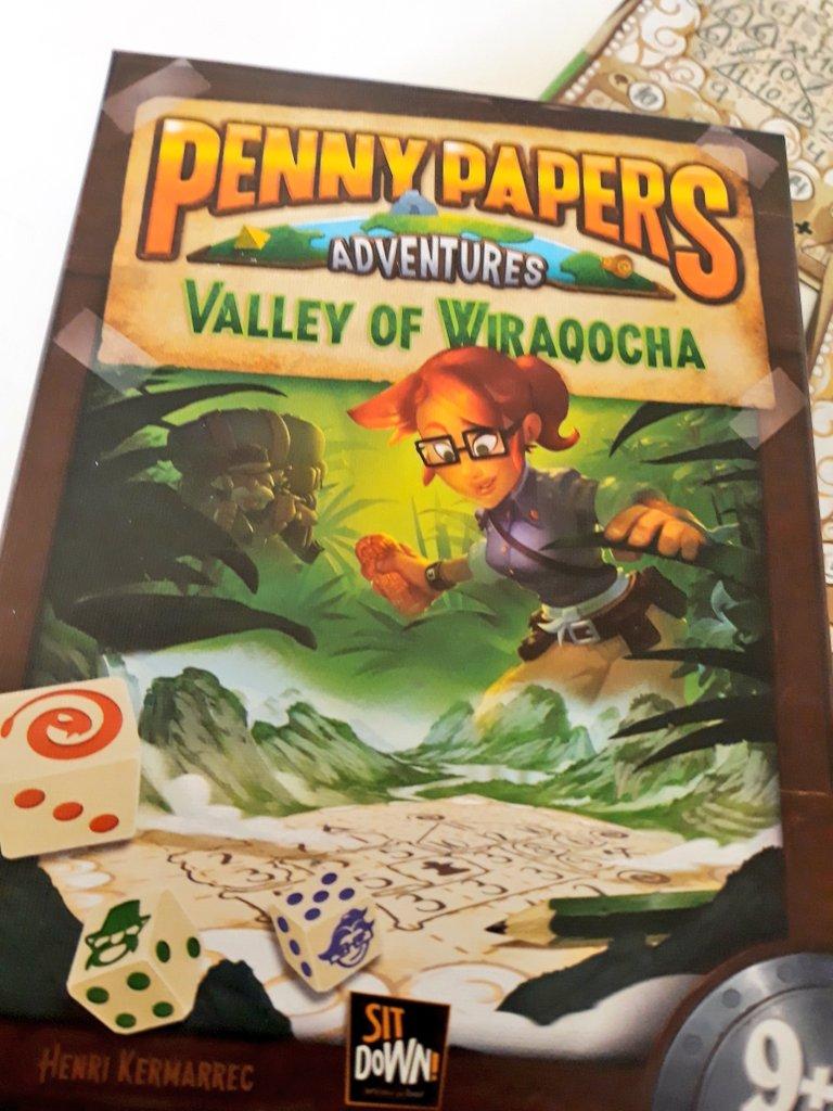 Juego de hoy: Penny Papers y el Valle de Wiraqocha – Jugando en Pareja