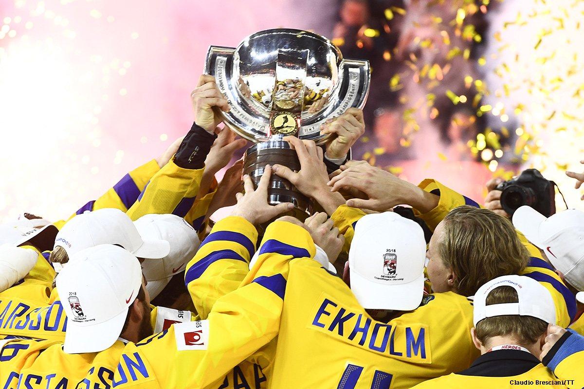RT @swedense Sweden is still celebrating last night's gold medal in the 2018 World Ice Hockey Championship! 🏆🎉