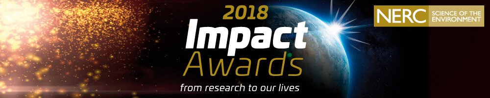 Theres only a few hours left to get you applications in for #NERCImpact Awards 2018! Help us show the world the amazing effects NERC research can have on society! bit.ly/2Hkd11N Apply now! @BAS_News @CEHScienceNews @NOCnews @NCEOscience @AtmosScience