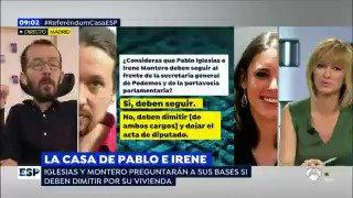 Pablo Echenique's photo on Iglesias y Montero