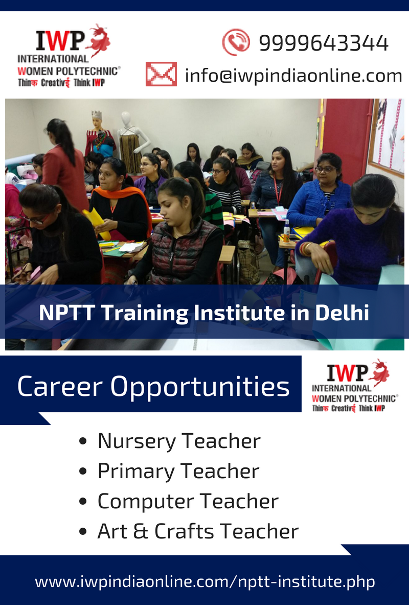 Join IWP the leading Nursery Teacher Training