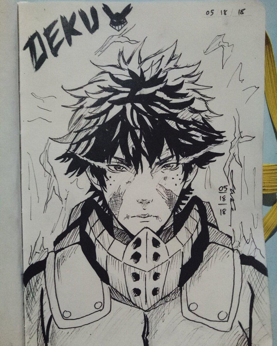 Illustrator X On Twitter Izuku Midoriya Or Deku Semi