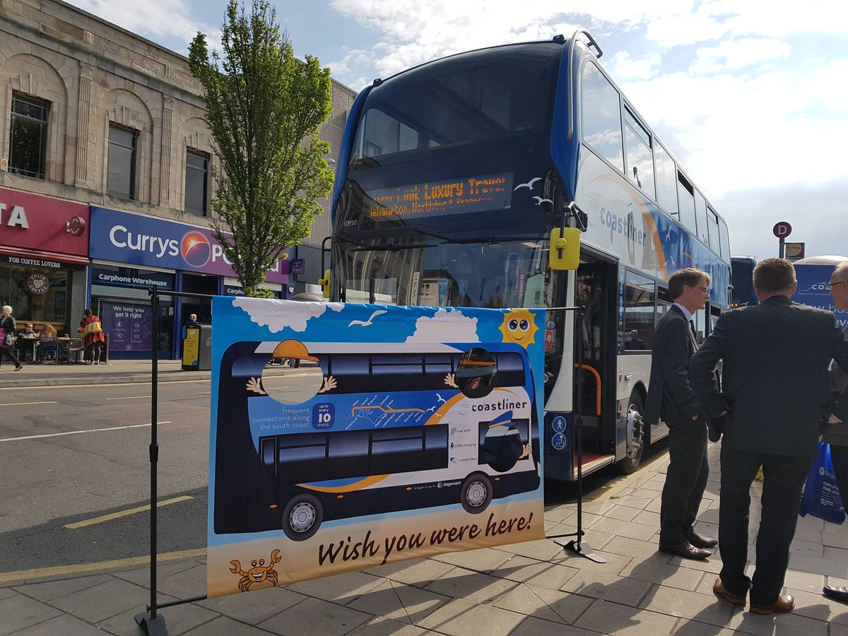 Stagecoach South On Twitter We Are Currently In Brighton City Centre Launching Our Latest Fleet Of 30 Brand New Buses For Coastliner 700 Featuring Free