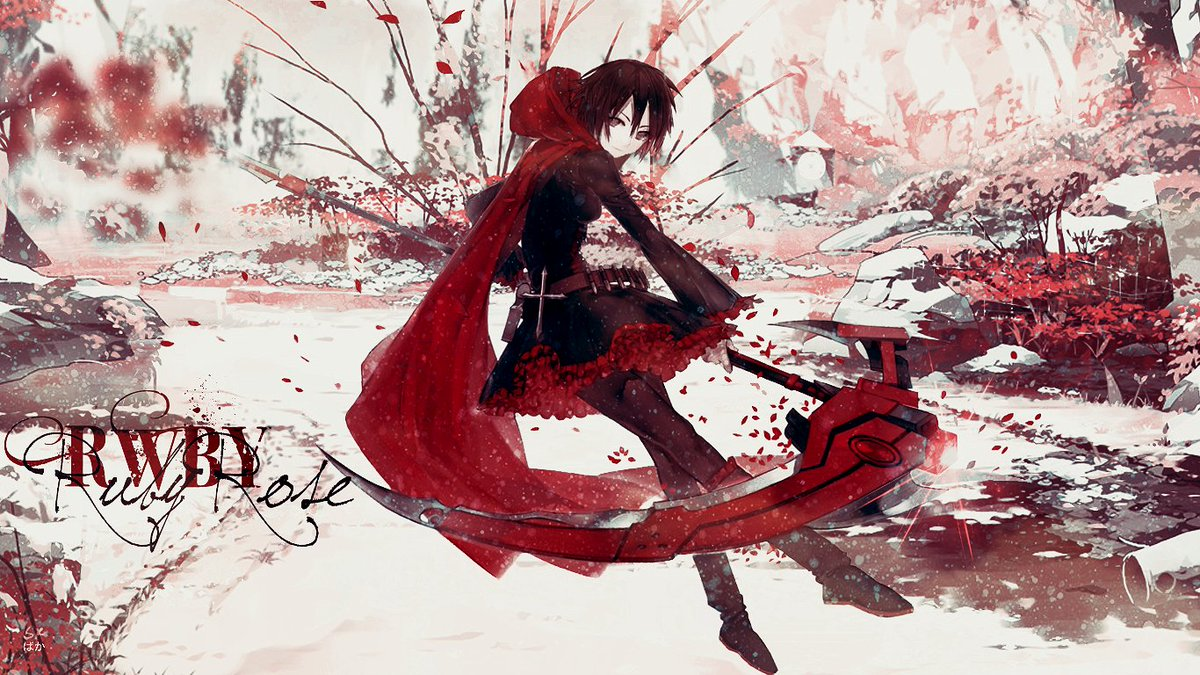 "スーパーかっこいい""[Wallpaper] : RWBY - Ruby Rose"" by Shoux-Baka"