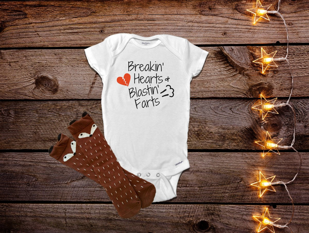 21e36d62b Breaking Hearts Blasting Farts Onesie®, Funny Baby Onesies®, Baby Shower  Gift, Funny Baby Clothes, Trendy Baby Clothes, Baby Boy, ...