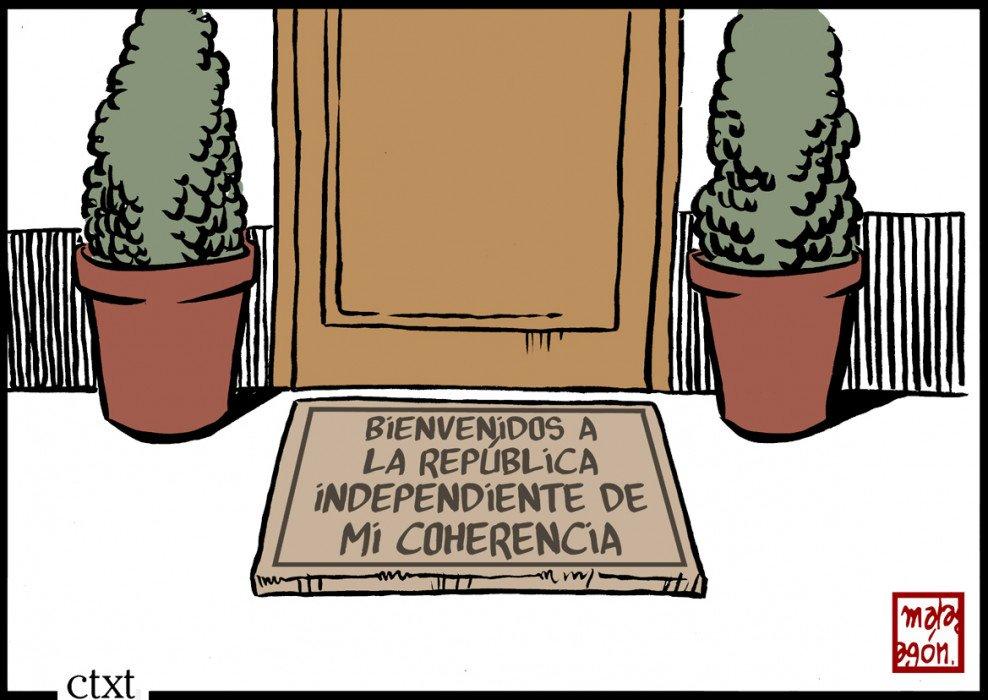 El @malagonhumor de hoy: República independiente de la coherencia bit.ly/2wVNqeZ