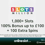 Image for the Tweet beginning: Welcome SlotsMillion Casino to :