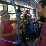 Pratimo uživo predstavu Ne-vidljivi grad @DAHTeatar u busu 26, pridružite se! #EvropaZaKulturu