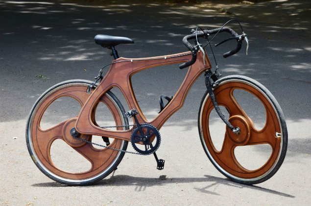 Coimbatore designer's wooden bicycle becomes an instant hit https://t.co/q9VyQkHSdW via @TOICitiesNews https://t.co/X9txt779w2
