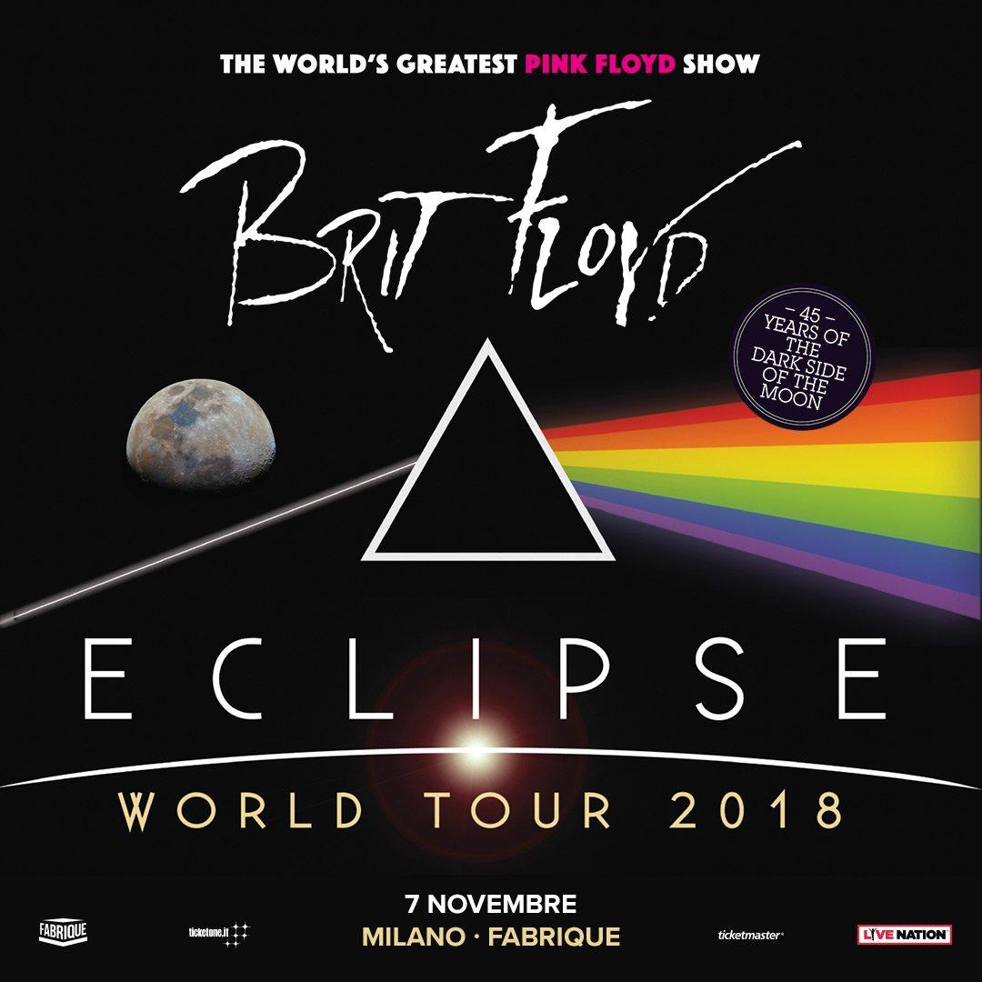 #BritFloyd: il più grande spettacolo live che porta sul palco le canzoni dei Pink Floyd, torna in Italia per celebrare i 45 anni dall'iconico album della band, #TheDarkSideoftheMoon! 7 novembre · Milano, Fabrique Info e biglietti > bit.ly/britfloyd_fabr…