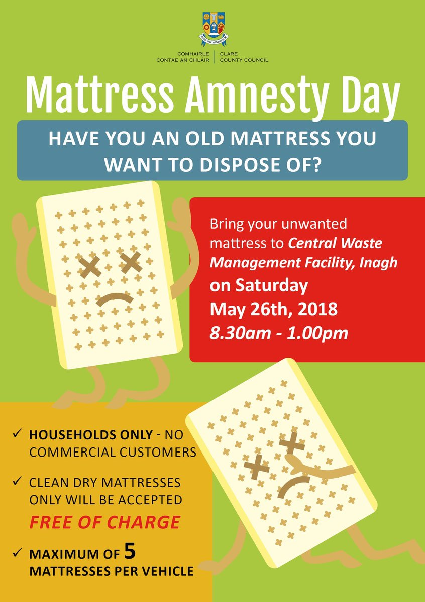 Greener Clare On Twitter Have You An Old Mattress You Want To