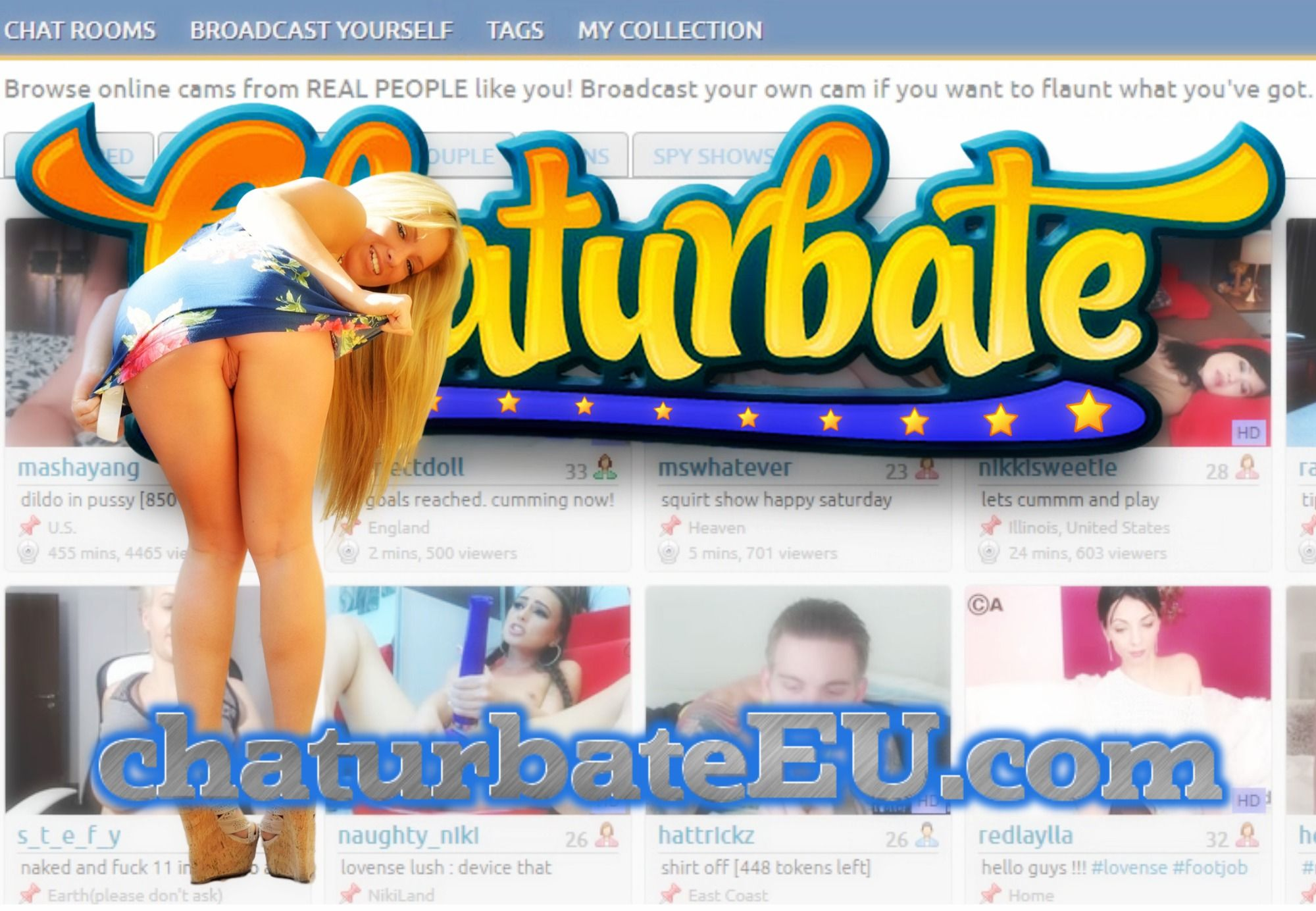 RT @chaturbateEU: Thousands of Live Amateurs Broadcasting from Home!Signup at: https://t.co/stiJgw9PpK #dutchyteam #chaturbate #NSFW https:…