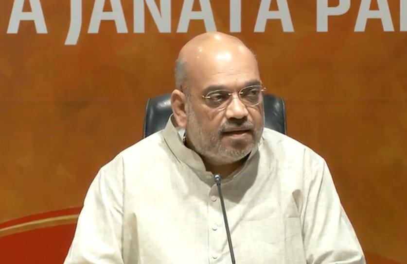 LIVE | BJP President @AmitShah is addressing a press conference at party headquarter https://t.co/n8OBv3f9yj