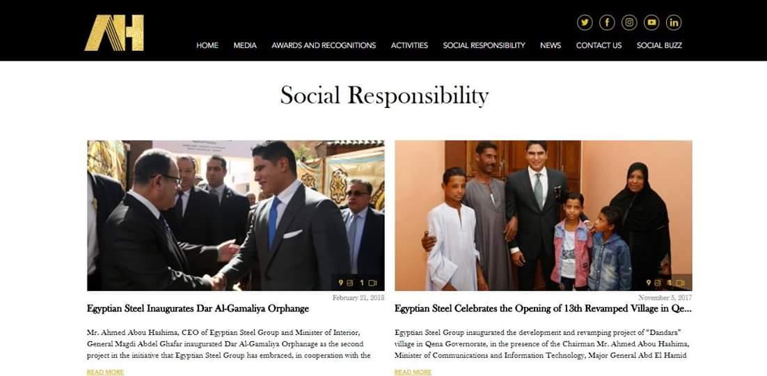تدعم مجموعة #حديد_المصريين الكثير من أنشطة الخدمة المجتمعية ahmedabouhashima.com/social-respons…